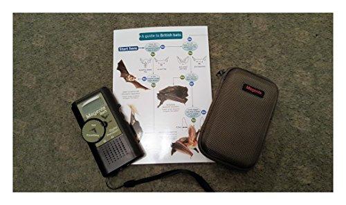 Bat Detector Kit including Bat 5 Bat Detector + Soft Zip Case + Field Guide - British Bats