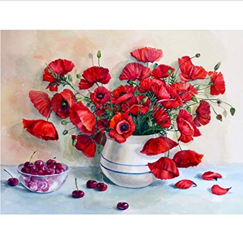 Pintura De Aceite De Cártamo Pintada A Mano Creativa Pintura Al Óleo Digital 24 Pigmento...
