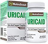 UricAid #1 Uric Acid Cleanse Supplement | Purine & Joint Balance | Future Attack Relief | Tart Cherry, Celery, Turmeric, Milk Thistle, Bromelain & More | Money Back Guarantee | 60 Capsules