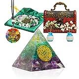 Healing Crystals Orgone Pyramid, Energy...