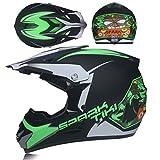Qianliuk Casco Moto capacete Motocross protección contra el Caballo de Carretera Motocross Casco para Hombres y Mujeres