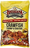 Louisiana Fish Fry Crawfish, Shrimp & Crab Boil Seasoning (4.5 Pounds) (4 Pack(4.5 Pounds))