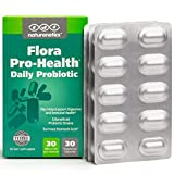 Probiotics for Women and Men on The Go – Flora Pro-Health, High Strength Probiotic Supplement – 30 Billion CFU Per Capsule – Sugar, Soy, Dairy, Gluten Free – Vegan – with Acidophilus – 30-Day Supply