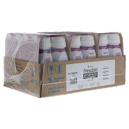 Fresubin PROTEIN Energy Drink Cappuccino, 6X4X200 ml