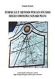 Formule e metodi per lo studio degli orologi solari piani