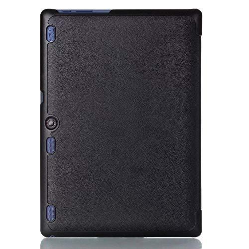 Funda Ultra Delgada para Lenovo Tab2 A10-70 Tab2 A10-30 Tab3 10 Plus Tab3 10 Business TB-X103F TB2-X30F TB3-X70F Tablet-Negro