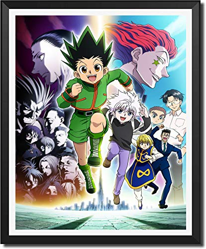 Anime Hunter x Hunter Canvas Wall Art Print Poster for Home Decor,8 x 10 Inches,Unframed,Set of 1 Piece