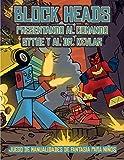 Juego de manualidades de fantasía para niños (Presentando al Comando Sythe y al Dr. Kevlar): Este libro de manualidades recortables de Block Heads ... seleccionados y 1 aerodeslizador