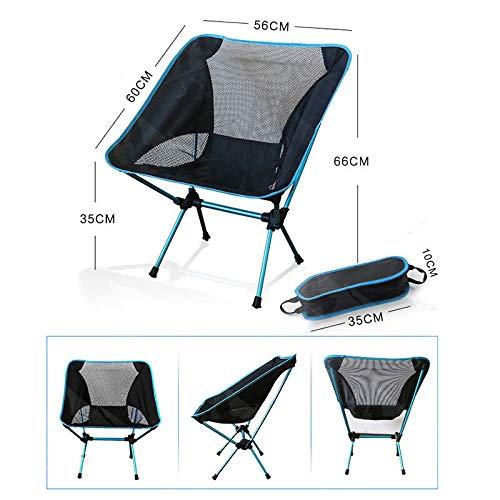 Chair Luna draagbare tuinstoel visstoel voor camping, vast of verstelbaar, hoogte inklapbaar, Indiaas meubel