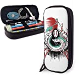 YOLOP Federmäppchen Pencil Case Big Capacity High Capacity Pen Pencil Pouch Stationery Organizer Practical Bag Holder with Zipper - Spirited Away No Face Man
