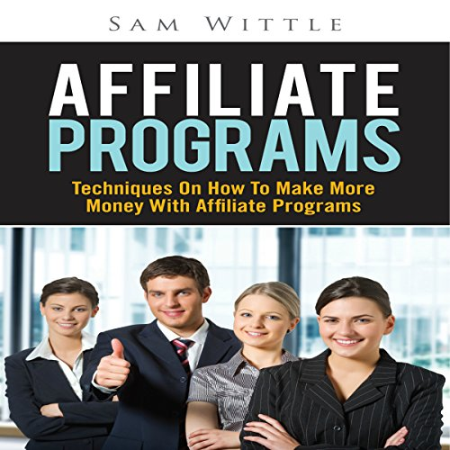 Affiliate Programs audiobook cover art