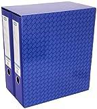 Elba Rado Top - Módulo 2 archivadores anchos, color azul