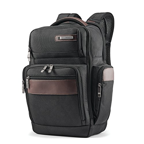 Samsonite 4 Square Backpack, Black/Brown, One Size