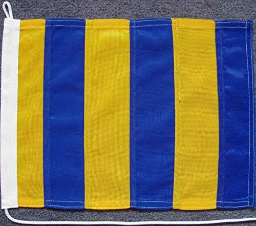 flaggenmeer® Signalflagge G - Golf ca. 30 x 35 cm