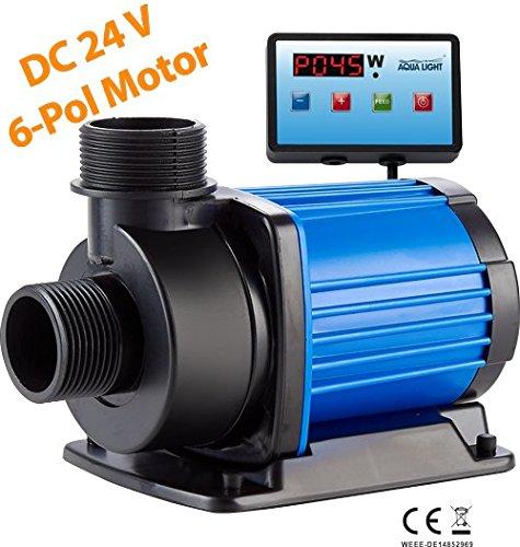 ECO easypumpe 24V-DC SixPole EP 4.000l/h mit Digitalsteuerung