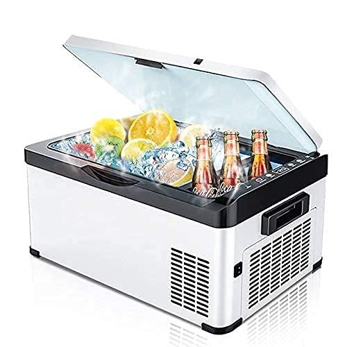 WECDS 202630Liters AC DC12V24V Car Deep Congelador Portátil al Aire Libre Picnic Camping RV Compresor Refrigerador Mini refrigerador Nevera Caja (30 litros)