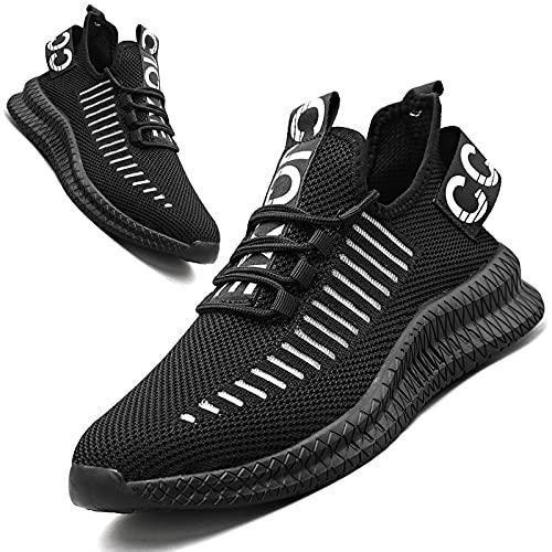 HIIGYL Zapatos Hombres Zapatos para Correr Zapatillas de Deporte Calzado Deportivo Calzado para Correr en Carretera Zapatilla para Correr Zapatos para Caminar Zapatillas de Tenis para