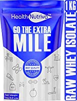Strava Nutrition HealthNutriva Raw Whey Protein Isolate 90% 28.8 g Protein Lab Tested with Enzyme Blend From USA...