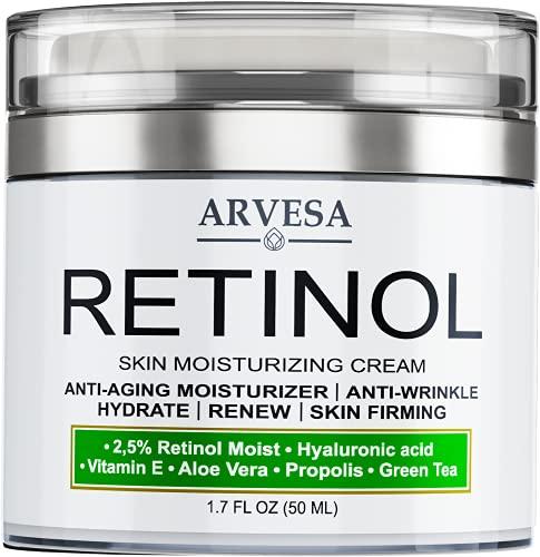 Retinol Cream for Face, Neck & D