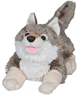 Wild Republic Wolf Plush, Stuffed Animal, Plush Toy, Gifts For Kids, Playful Series 10 Inches