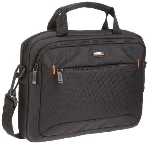 AmazonBasics 11.6-Inch Macbook Laptop and Tablet Shoulder Bag, Black, 10-Pack
