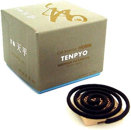 Shoyeido's Peaceful Sky Incense, Set of 10 Coils - Ten-pyo