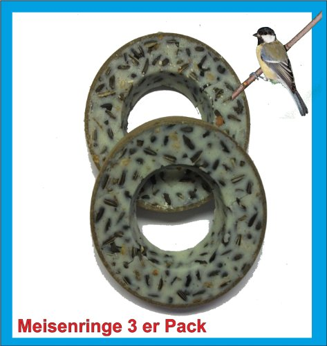 Sahawa® 3er Pack Meisenringe