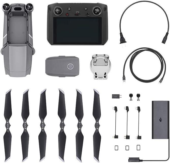 DJI Mavic 2 Pro + Smart Controller - Dron Mavic 2 Pro con Control Remoto y Pantalla de 5.5 Incluye una Cámara Fotografica Hasselblad L1D-20c de 20 MP