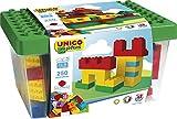 Unico Plus 8525 - Caja con bloques de construcción (250 piezas)
