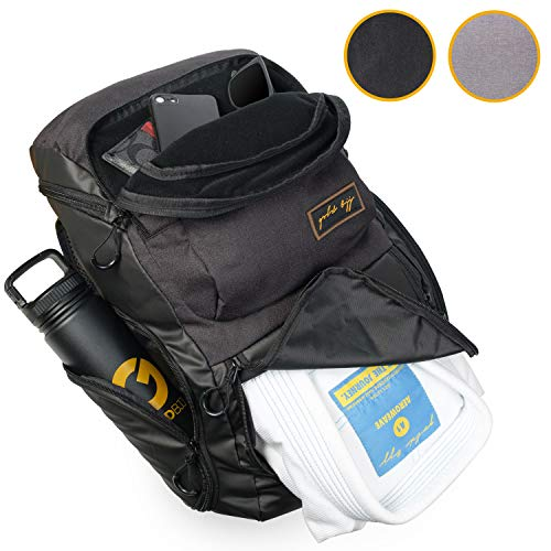 Gold BJJ Jiu Jitsu Backpack