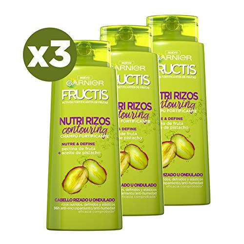 Garnier Fructis Champú Hidrarizos - 700 ml - [pack de 3]