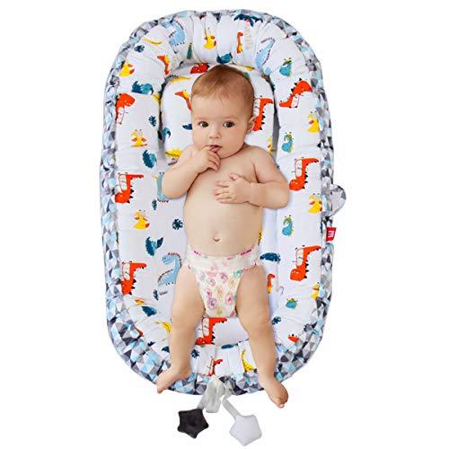 Rehomy - Tumbona portátil para bebé recién nacido, desmontable para bebés de 0 a 2 años de edad, nido de bebé para dormitorio/viaje å1⁄2æé3⁄4BW.
