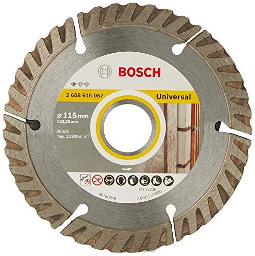 Bosch 2608602191 - Disco tronzador de diamante universal (115 x 22,23 x 1,6 x 10 mm)