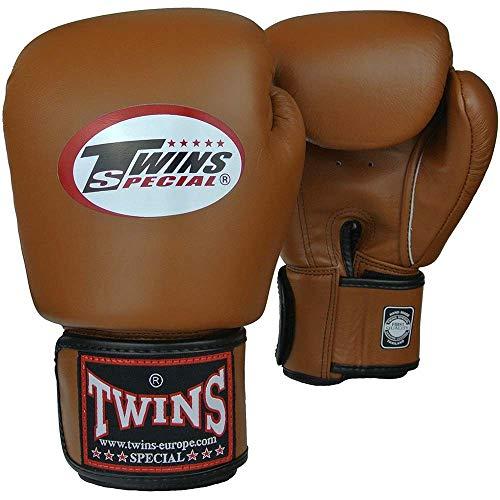 Twins Special Boxhandschuhe, Leder, Retro Größe 10 Oz