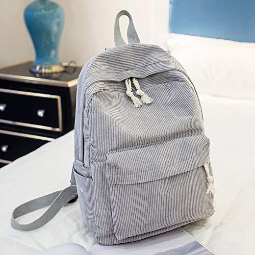 YUIOP Rucksack Samt Rucksack Damentasche Einfacher Lässiger Damenrucksack Mit Großer Kapazität