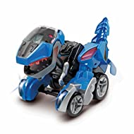 VTech Switch and Go Dinos RC T-Rex - Dino Car Transformer with Remote Control - 2-in-1 Toy with Dino...