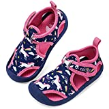 RANLY & SMILY nerteo Water Shoes Girls Kids Walking Sneakers...