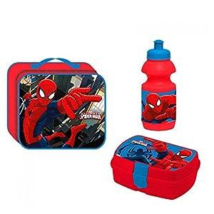 Spiderman 55727254– Juego de merienda 3en 1de Spiderman