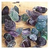 YSJJDRT Cristal Natural Rugoso 1 unids 4 tamaños Natural púrpura Amatista Cuarzo Cristal Muestra áspera ciega Piedras Acuario Acuario Plantas Plantas Olla (Color : Size1.5-2)