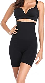 Quickty Women's Spandex & Nylon Tummy Control High Waist and Thigh Shapwear (Free Size Fit Up to M-L-XL-XXL)