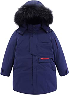 Mud Kingdom Big Boys Down Coat with Hood Helm Bubble with Storm Cuffs