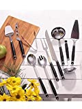 Set de servicio de mesa 10 piezas acero inoxidable sin género - 680005