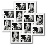 Milano White Multi Aperture Photo Frame for 12 6x4 Photos