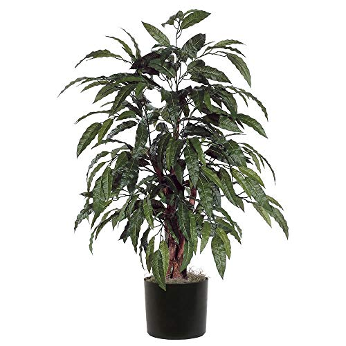 Vickerman TBU2840-06 Everyday Mango Bush, Green, 4' (Renewed)