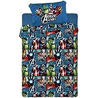 Juego DE SÁBANAS TÉRMICAS DE CORALINA Azul Cama 90 cm Avengers