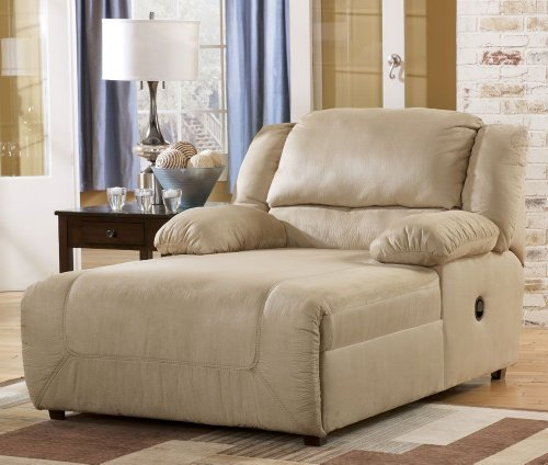 Hot Sale Contemporary Press Back Khaki Chaise