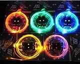 Leuchtende LED Schnürsenkel Schnürsenkel | Lichtwellenleiter-LED