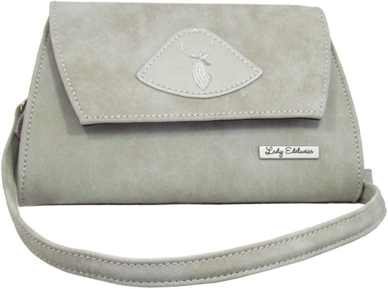 Lady Edelweiss 17500 Trachten Clutch grau B07N8FBKGD  Sehr gute Qualität