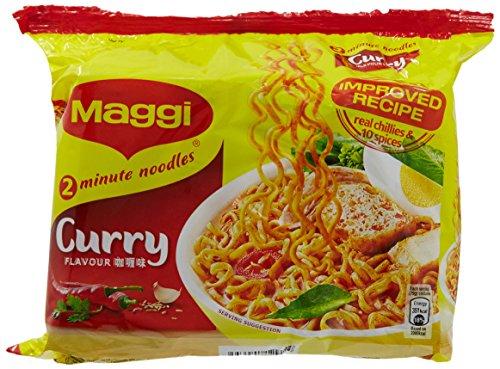 Maggi istante Noodle Soup Curry Sapore x 5 confezioni