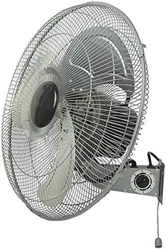 YZPDD Ventilador eléctrico Industria de Metal Ventilador de Pared/de almacén Taller Grande Volumen de Aire Ventiladores de Pared/Ventilador práctico de Ahorro de Espacio
